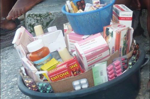 Article : Haïti : aucun contrôle sur la vente des médicaments