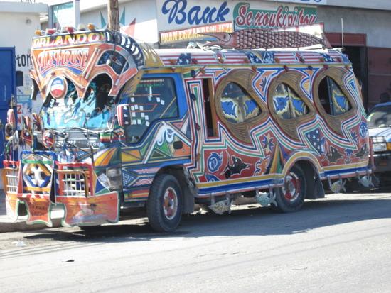 Autobus assurant le trajet Carrefour feuille-centre ville