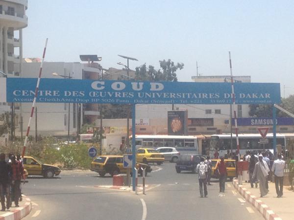 Vue du Centre des Oeuvre Universitaires de DakarCredit photo Wilney Taris